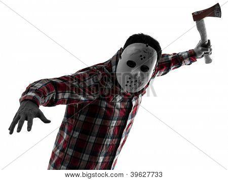 one causasian man serial killer