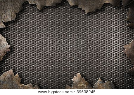 metal grunge background