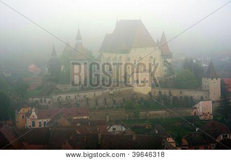 Fortified church in Biertan, Transylvania, Romania, Europe - UNESCO Heritage