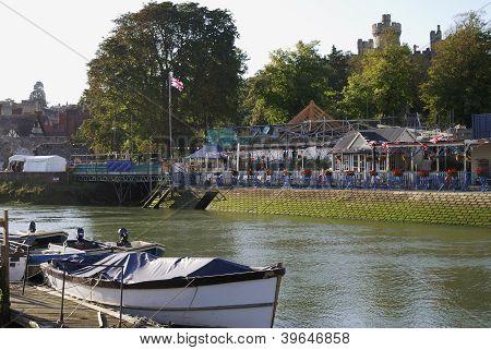 Arundel Riverside. Sussex. Inglaterra