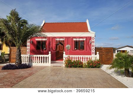 Typical caribbean house