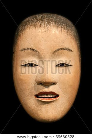 Zo Onna (beatiful woman) mask from japanese Noh theatre