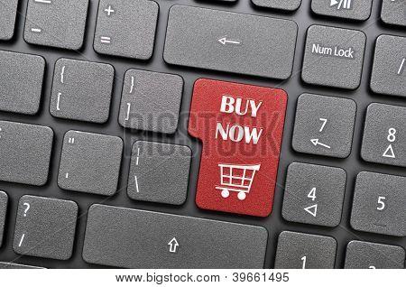 Buy now on keyboard