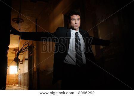Seedy Businessman