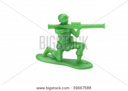 Kneeling Toy Soldier