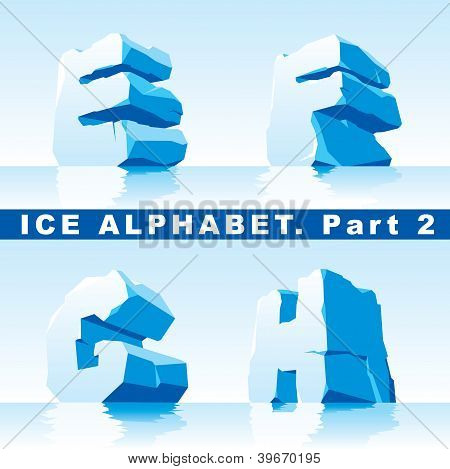 Alfabeto de gelo