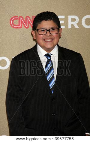 LOS ANGELES - DEC 2:  Rico Rodriguez arrives to the 2012 CNN Heroes Awards at Shrine Auditorium on December 2, 2012 in Los Angeles, CA