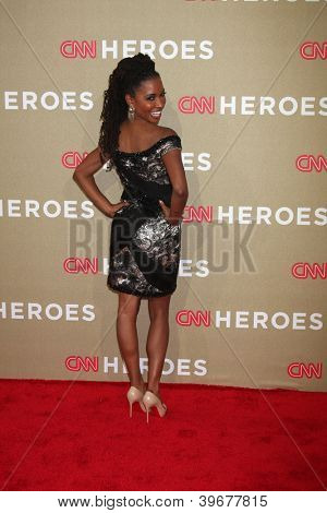 LOS ANGELES - DEC 2:  Shanola Hampton arrives to the 2012 CNN Heroes Awards at Shrine Auditorium on December 2, 2012 in Los Angeles, CA