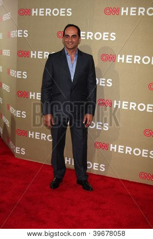 LOS ANGELES - DEC 2:  Navid Negahban arrives to the 2012 CNN Heroes Awards at Shrine Auditorium on December 2, 2012 in Los Angeles, CA