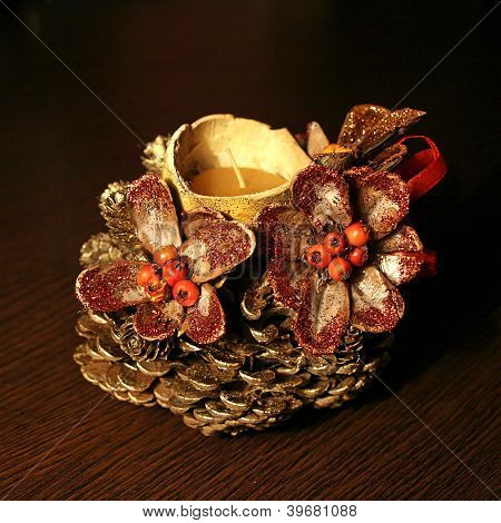 Decoration of pinecone