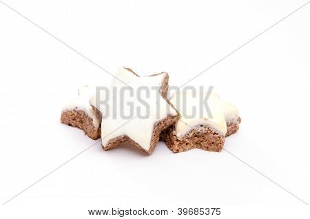 Star Shaped Cinnamon Cookies