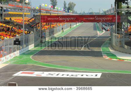 Formula 1 Singapore Grand Prix 2008 Street Circuit