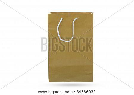 Bolsas de papel.