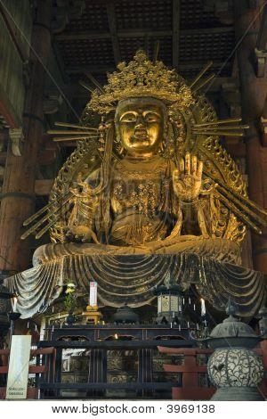 Bodhisattva (Bosatsu) Statue At Todai-Ji, Nara, Japan