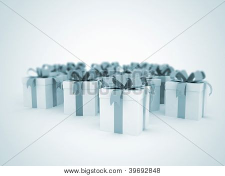 Gift Boxes Celebration Background