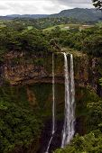 foto of chamarel  - chamarel falls in the isle of mauritius - JPG