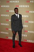 LOS ANGELES - DEC 2:  Aldis Hodge arrives to the 2012 CNN Heroes Awards at Shrine Auditorium on Dece