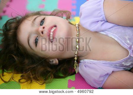 Beautiful Princess Little Girl