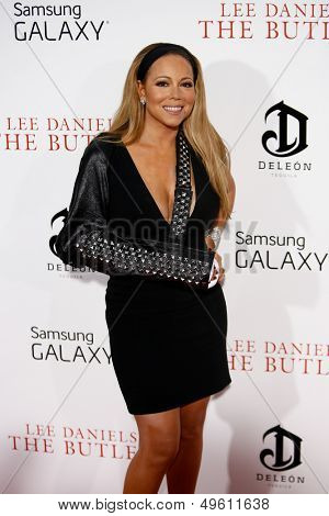 NEW YORK-AUGUST 5: Singer Mariah Carey attends the premiere of Lee Daniels'
