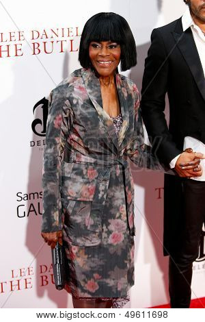 NEW YORK-AUG 5: Actress Cicely Tyson attends the premiere of Lee Daniels'