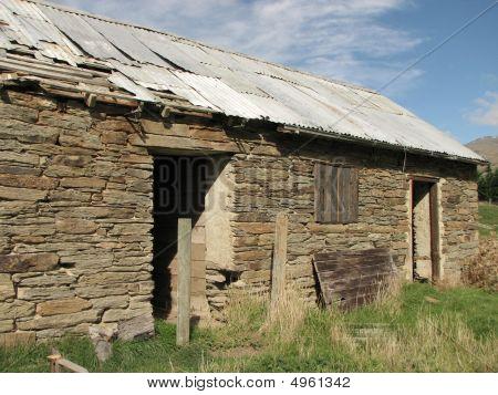 Historic Ruins Of Farmbuilding