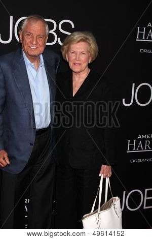 LOS ANGELES - AUG 13:  Garry Marshall, Barbara Marshall at the