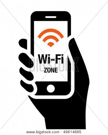 Wi-Fi zone icon