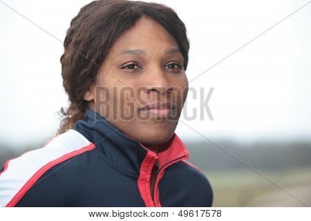 KHARKOV, UKRAINE - APRIL 20: Serena Williams talk to press during Fed Cup Tie between USA and Ukraine in Superior Golf & Spa Resort, Kharkov, Ukraine at April 20, 2012