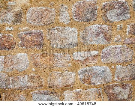 Weathered Stone Wall