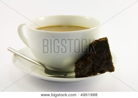 Tea And Chocolate Brownie