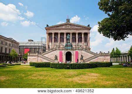 Altes Museum. German Old Museum on Museum Island, Mitte. Berlin, Germany