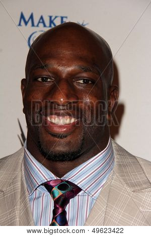 LOS ANGELES - AUG 15:  Titus O'Neil at the Superstars for Hope honoring Make-A-Wish at the Beverly Hills Hotel on August 15, 2013 in Beverly Hills, CA
