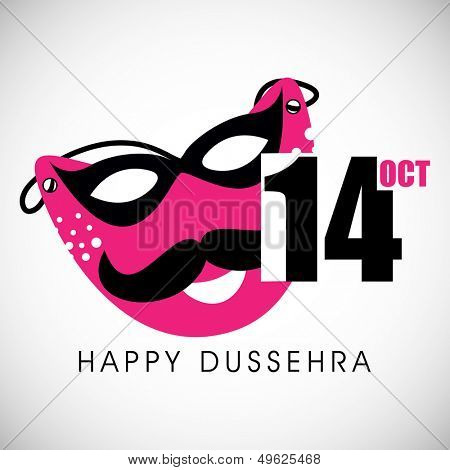 Indian festival Happy Dussehra background.