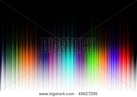 Unique color background black to colour