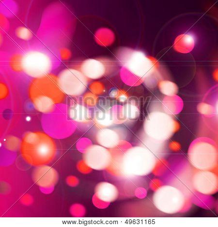 bright celebration lights