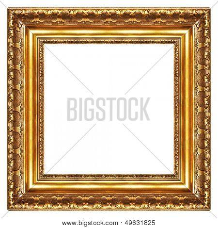 classy gilded frame -square shape