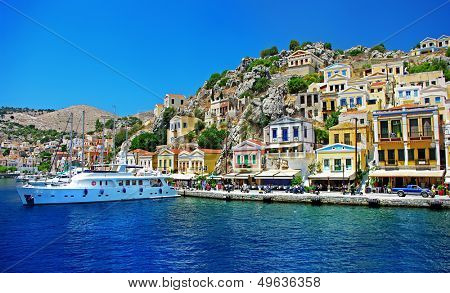 Greece - pictorial island Symi bay