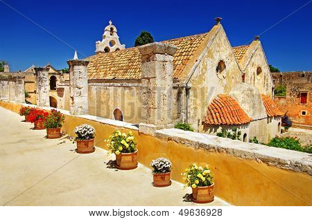Greek monastery -Arkadi