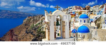 amazing Santorini - panoramic view