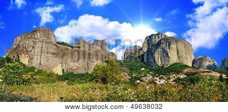 amazing Meteora rocks - Greece
