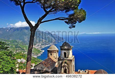 pictorial  Amalfi coast - Ravello
