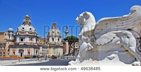 Roman landmarks, Piazza Venezia