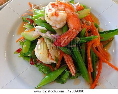 Collards spicy callad