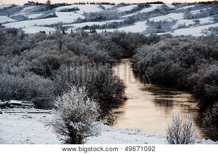 A River in Winter