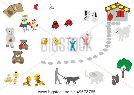 Animals favourite of children