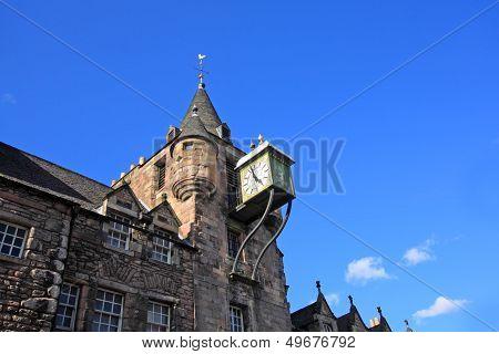 Canongate Tolbooth Clock, Edinburgh