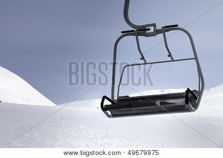 Chair-lift Close-up View