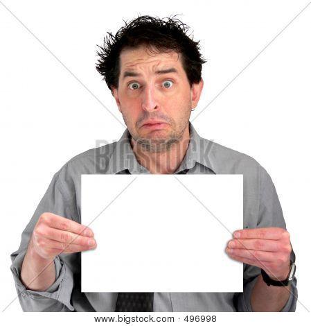 Verärgert Document Guy