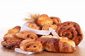 stock photo of croissant  - pastries - JPG