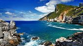 landscapes of beautiful Italian reviera - Portovenere